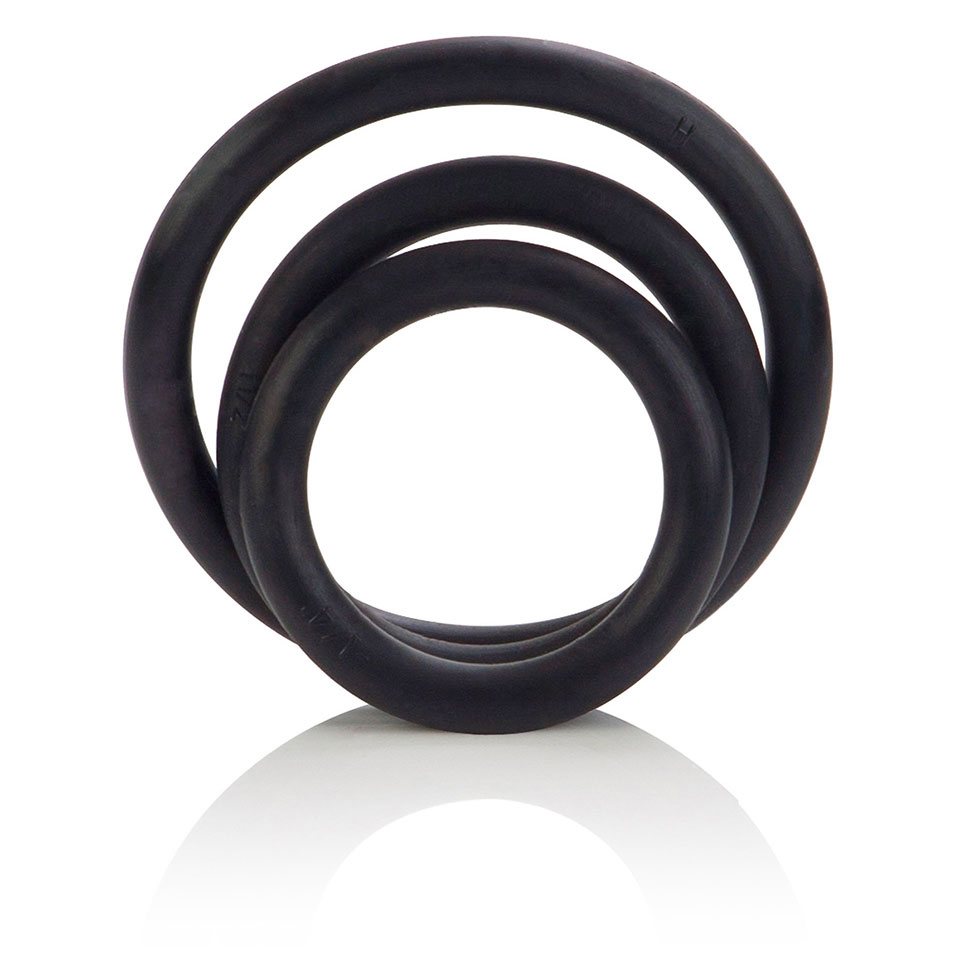 3 Piece Rubber Ring Set